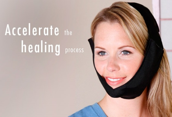 Cool Jaw T-800C TMJ/Facial Wrap with Chin Cup